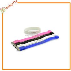 PVC Silicon Wristband Bracelet 8gb USB Flash Drive /USB pen drive