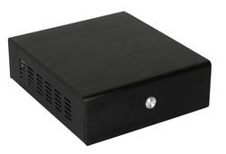 Aluminum mini computer case cube computer cases black color case HTPC Case /ITX CASE/Micor computer case 9001 Black
