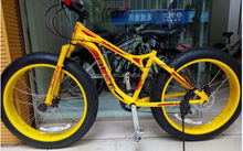 Light weight 26 size aluminum alloy fat bicycle adult for sale