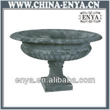 Bonita urna para la decoración de jardín del experimentado fabricante chino