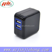 Wholesale Dual Socket USB Home Wall Charger 2.1A for iPad