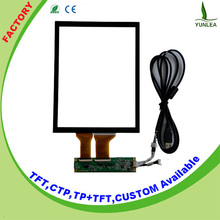13.3 inch touch screen panel kit support Win7, win8, linux, wince,android operating system