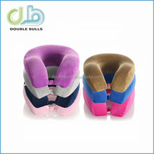 Wholesale high quality 2015 Christmas Good giftsMemory Foam Neck Pillow for car