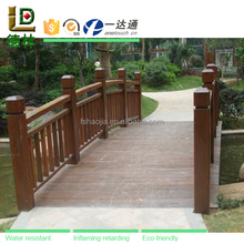 Recycled garden decoration plastic PVC outdoor pool fence panel