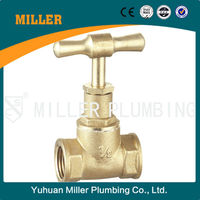 ML-5002 Forged Brass Stop Cock 15mm Stop Valve