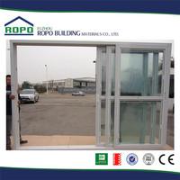 UPVC 3 tracks interior plastic veranda sliding door