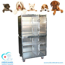 HK-C1000 popular stainless steel pet cage