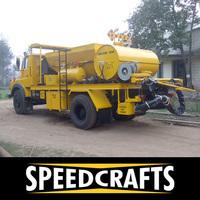 Truck Mounted Trailer Mounted Bitumen Pothole Repairing Machine