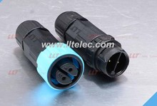 2P/3P/4P M16 self-locking male and female waterproof connector