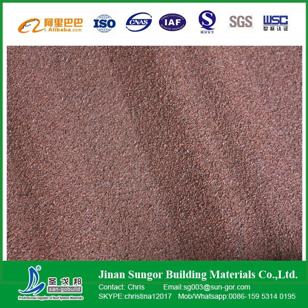 Cheap building materials flat metal roof tile with stone for Cheap construction materials