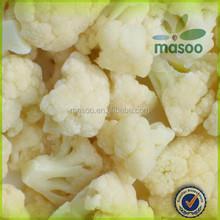 IQF frozen healthy organic food frozen cutted cauliflower florets