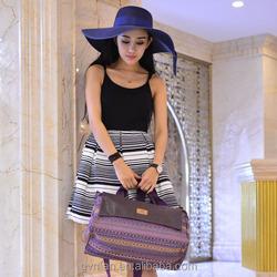 Travel luggage bags shoulder strap Canvas bag men in European market