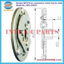 Sanden sd7v16 ac compressor clutch hub for Jetta