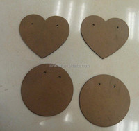 Wooden MDF decoration pieces