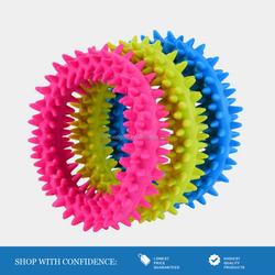 Eco-Friendly Dog Rubber Ring Dog Toy Dental Toy