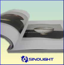 high quality and custom soft cover book manufacture