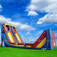 Zip line, inflatable sport games B6048