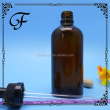 trade assurance 1/2oz, 1oz, 2oz, 8 oz Cobalt Blue Boston Round Glass Dropper Bottle For Essential Oil