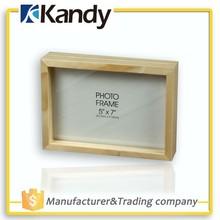 Kandy Unik make wooden picture frame,sixy waterproof picture frame,put your picture in a frame