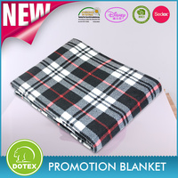 BSCI & SEDEX & AVON & Disney Audited Factory promotional polar fleece blanket/outing rug