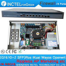 Marketing Wifi Advertising Routes AC VPN Firewall Server with G1610 Processor