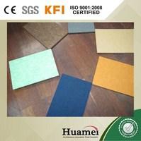 decorative fabric/cloth covered fiberglass acoustic wall panel/board