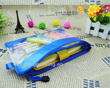 Waterproof PVC Make Up Pouch And Pencil Bag