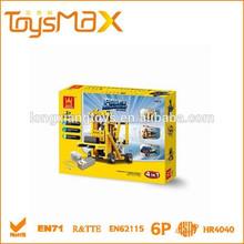 abs 2015 juguete de los niños la construcción de ladrillos con el certificado