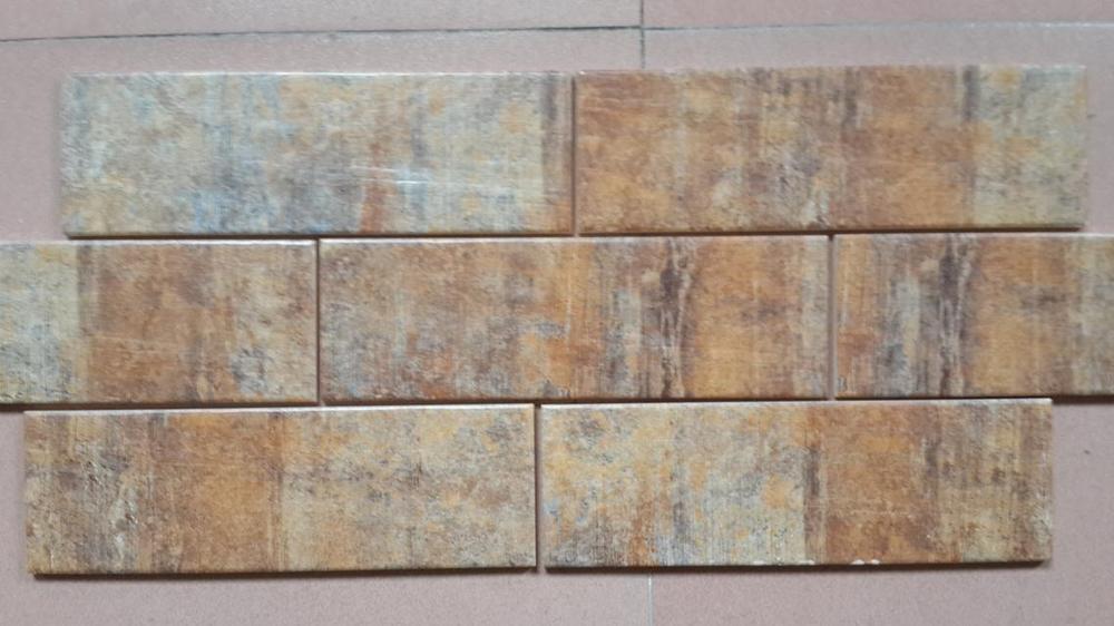 Keuken Grijs Groen : Digitale inkjet keramische wandtegels keuken tegels houten rand