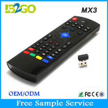 2015 new wireless air mouse mx3 2.4GHZ tv remote control codes for android tv box