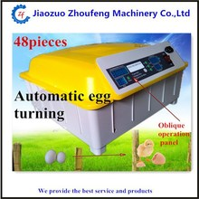capacity 48 chicken eggs Full automatic chick egg hatch machine for sale