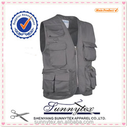 Sunnytex 2014 Hot Sale Multipockets Fishing Vest