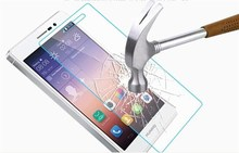 glass Screen Protector High Quality Premium Real Tempered Glass Film Screen Protector for Huawei P7 P6 A199 3C G520 Y511 G700 Y3