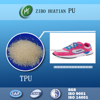 Polyurethane resin accessories of sports shoes making TPU pellets