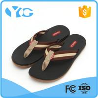 summer men durable rubber sandal flip flop for beach walking