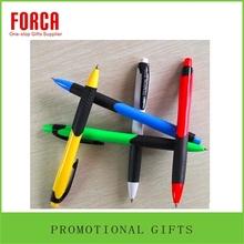 Customized Logo plastic pen promotion pen new design plastic pen