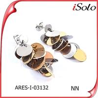 china supplier joyas en acero inoxidable costume jewelry earrings