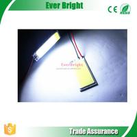 4CM * 2CM 21 SMD COB Chip LED car interior light T10 + Festoon cob led,festoon,led t10