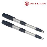 Lightweight 6063 aluminum telescopic pole for clamps