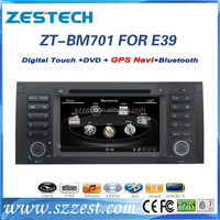 Zestech 2 DIN 7 inch Wince 6.0 Touchscreen Car DVD Player Stereo With Bluetooth for BMW 5 E39