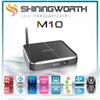 External antenna M10 smart tv box amlogic s812 android 4.4 quad core smart tv box KODI 14.2