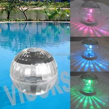 Model80158 IP67 1LED solar sphere floating pool light