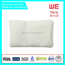 Microwave activated Hot Water Bag with Polyester Plush Cover