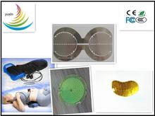 waist massager for PI/PET film heater, 3V-5V heating film