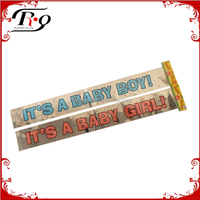 baby shower decoration party foil banner