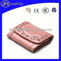 wallet with bottle opener green color elegant design pu wallet credit card case wallet