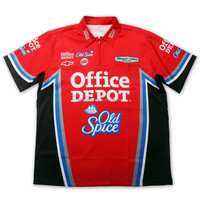 Custom Motor Wear Sublimation Racing Shirt pit Crew Shirt