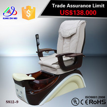 Zero gravity massage recliner/luxury nail salon spa chairs/luxury pedicure spa massage chair for nail salon KM-S812
