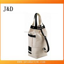 High Quality ! Fashion Hiking cotton Backpack unisex Travel Shoulder Bags Drawstring Bag