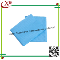 Blue Color Non Woven Disposable Bed Sheet/Sheet Cover For Hospital Operation